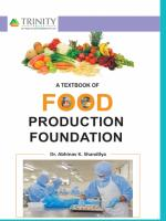 A Textbook of Food Production Foundation