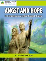 Angst And Hope In Contemporary Indian English Drama