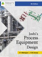 Joshi's Process Equipment Design