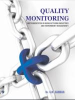 Quality Monitoring (Instrumentation in Manufacturing industries and Environment Management) Dr. G.N. Sarkar Laxmi Publications